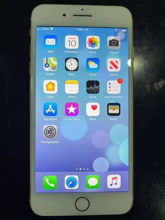 iPhone 8 Plus Dorado VENDO POR VIAJE HOY