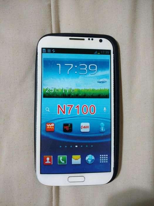 Funda Samsung G. Note Ii N7100 Tpu Negro Opaco