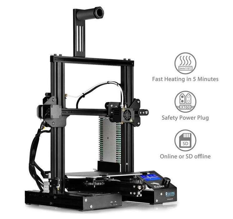 <strong>impresora</strong> Creality Ender 3 - Nueva en caja - KIT para armar