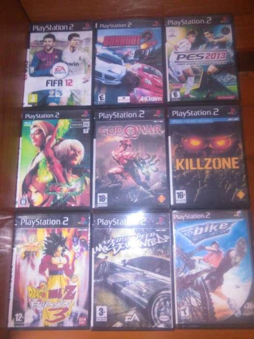 VENDO JUEGOS DE PS2