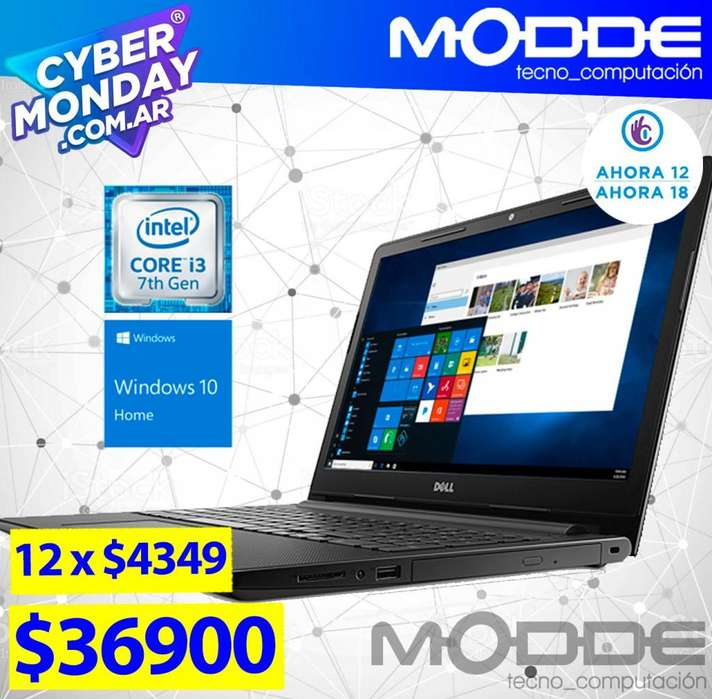 NOTEBOOK DELL INSPIRON 3000 CORE I3 // CYBER MONDAY MODDE TECNO