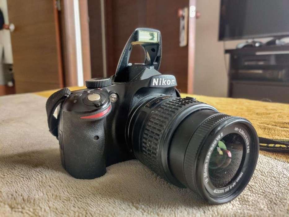 Camara Nikon D3200 Lente 18-55 Mm 32gb