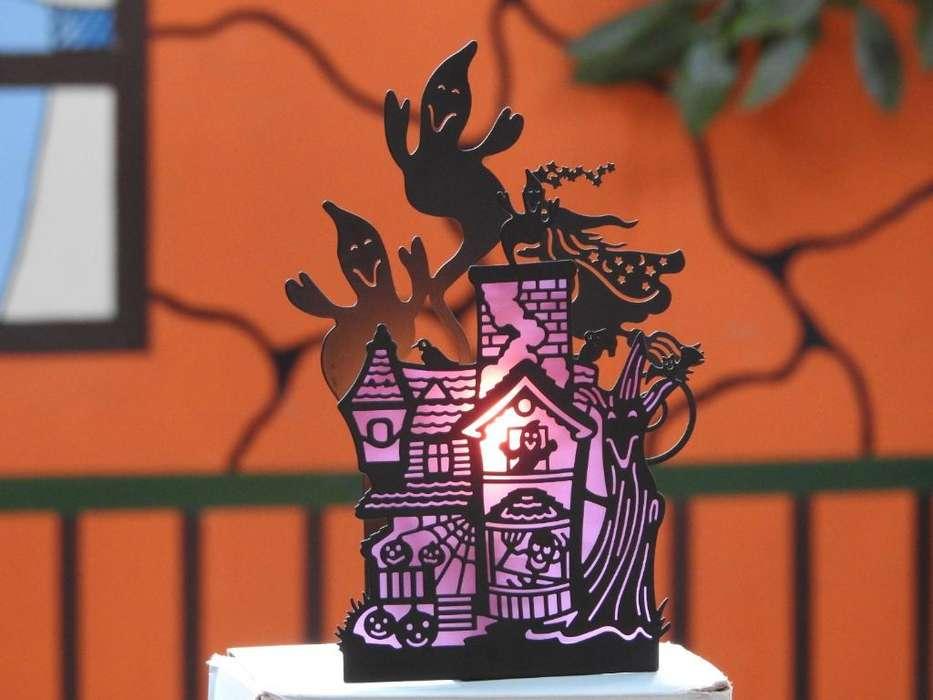 Partylite Halloween Haunted House