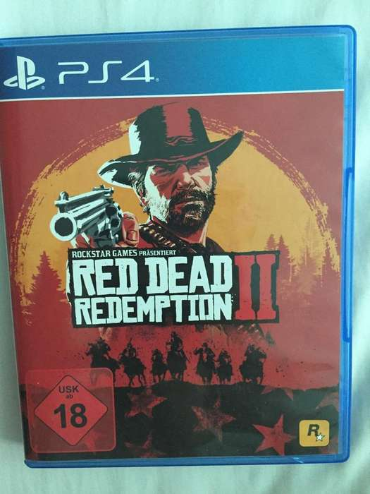 Vendo O Cambio Red Dead 2 Ps4