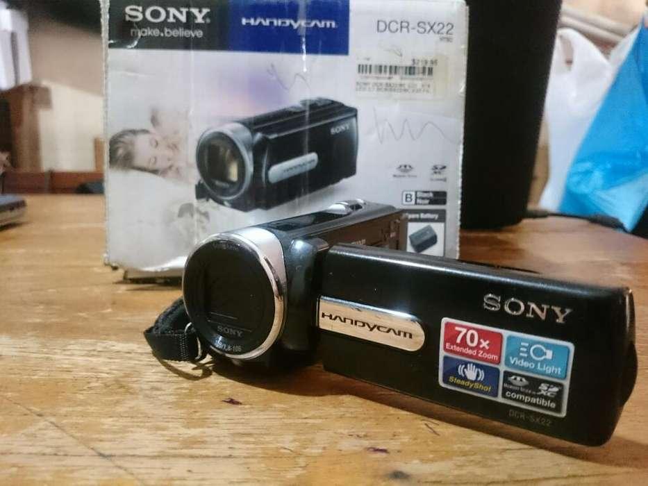 Video Camara Sony Dcrsx22