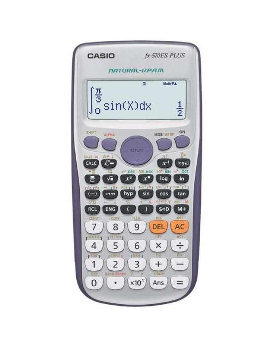 Calculadora Científica Casio Fx570es Plus 417 Funciones