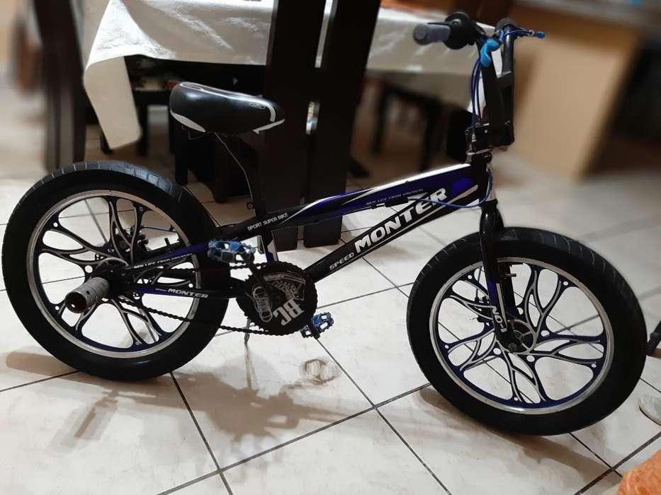 Vendo Bicicleta Monter