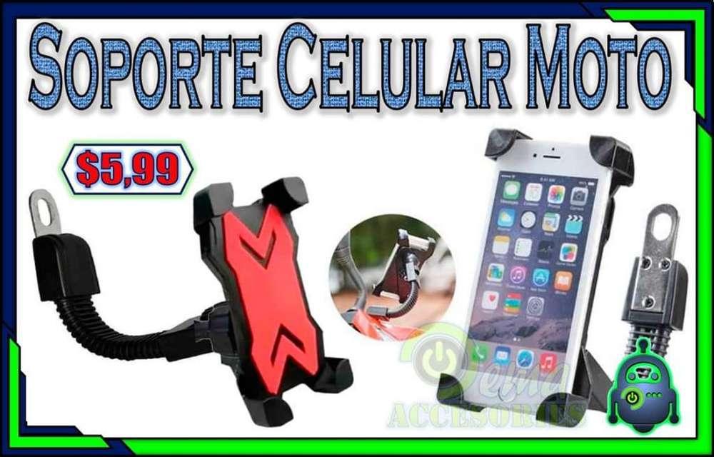 Soporte Celular Moto