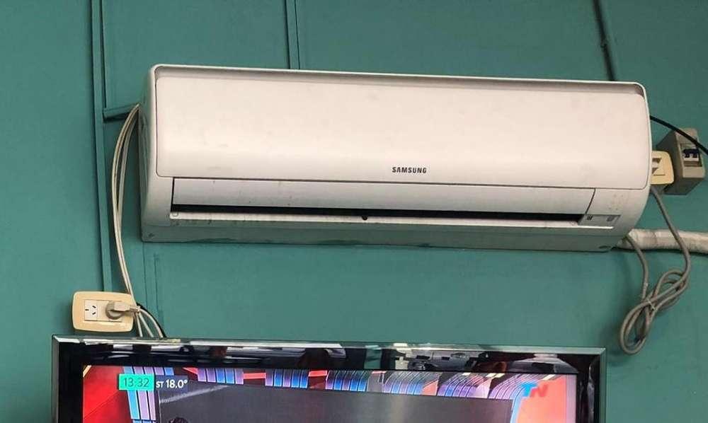 Aire Acondicionado FRIO CALOR Completo Impecable Samsung Sanyo 6500Fg
