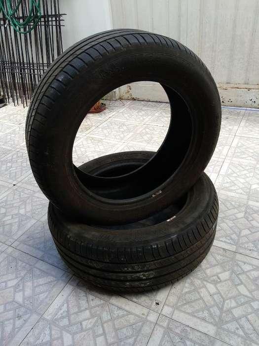2 Cubiertas <strong>michelin</strong> 225 55 R17 Nuevas