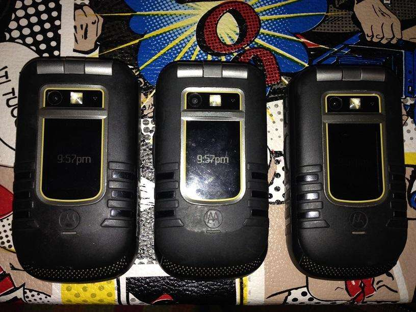 RADIO <strong>nextel</strong> I686 NEGRO RUGGED PHONE ANTI AGUA