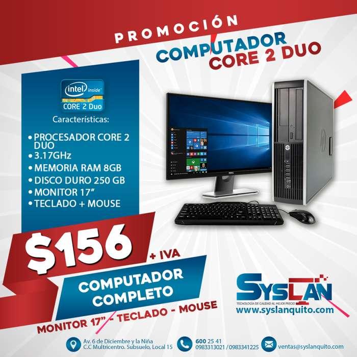 Computadora Completa PROMOCIÓN Core 2 Duo 8GB RAM GARANTÍA