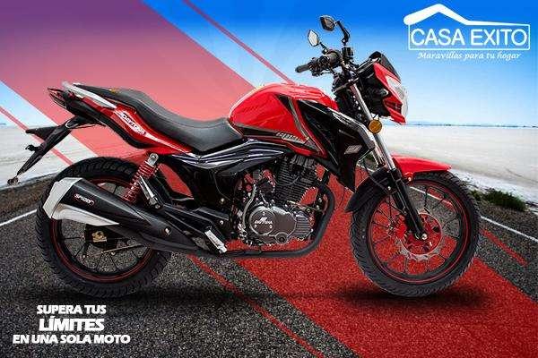Moto Daytona Dy200 Speed 200cc Año 2019 Color Negro / Rojo Casa Éxito