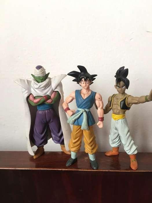 Set de 3 Figuras de Dragon Ball