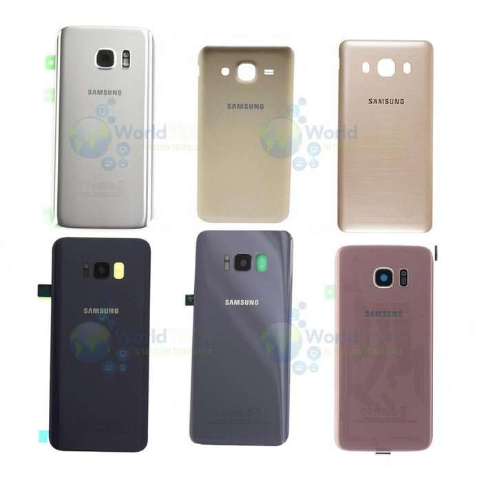 Tapa Bateria Posterior Samsung S4 S5 J1 Ace J3 J5 J7 Pro 2016
