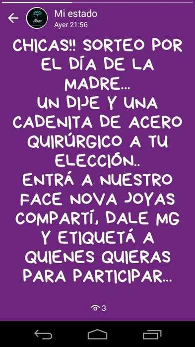 Sorteo Dia de La Madre :) Nova Joyas