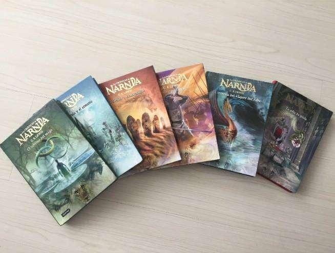 Colección libros Narnia originales