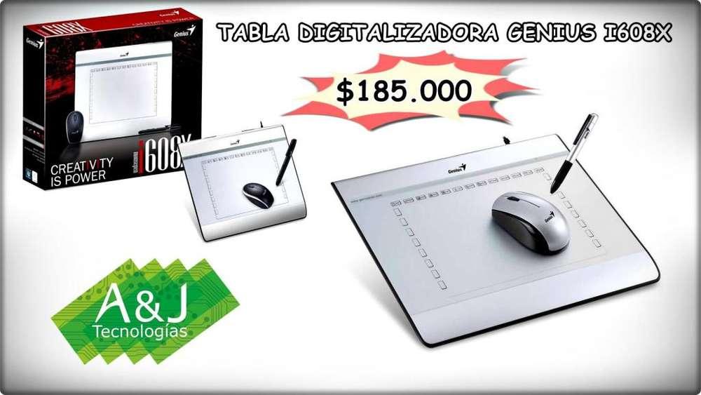 TABLA DIGITALIZADORA GENIUS I608X