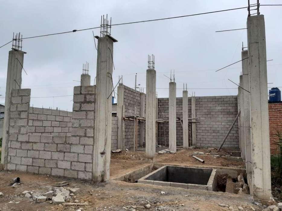 Casa en construcción en venta sector Costa Azul