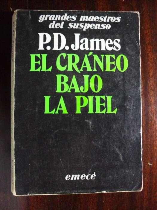 EL CRANEO BAJO LA PIEL P.D. JAMES 284 PAGINAS EMECE