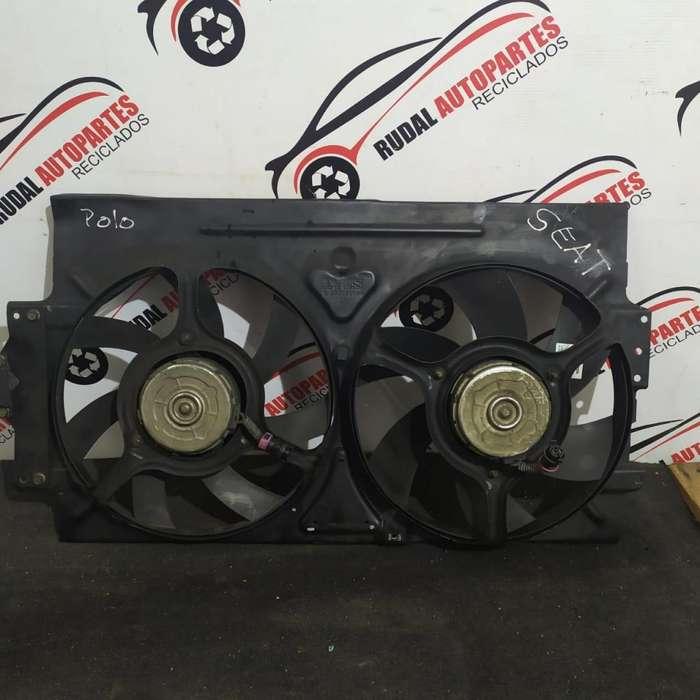 Electro Ventilador Volkswagen Polo 4750 Oblea:02749138