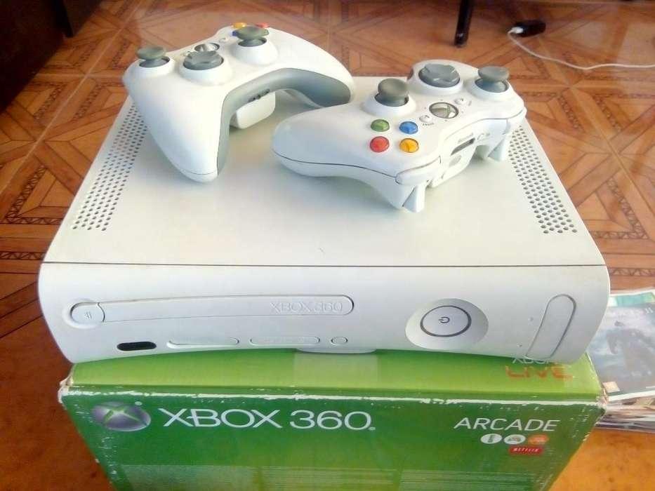 Xbox 360 (3.0) 2 Controles Muchos Juegos