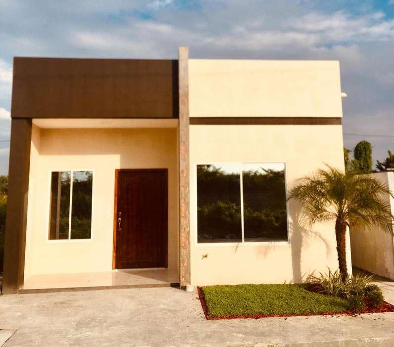 Casas nueva en Milagro urbanizacin privada
