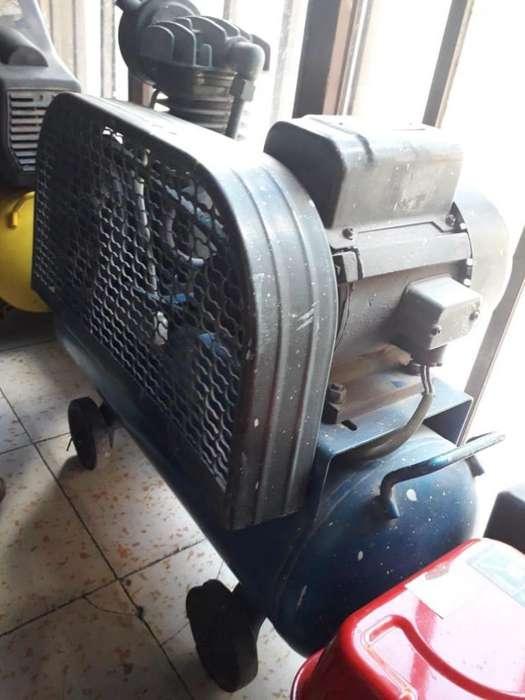 Compresor con Motor Y Banda