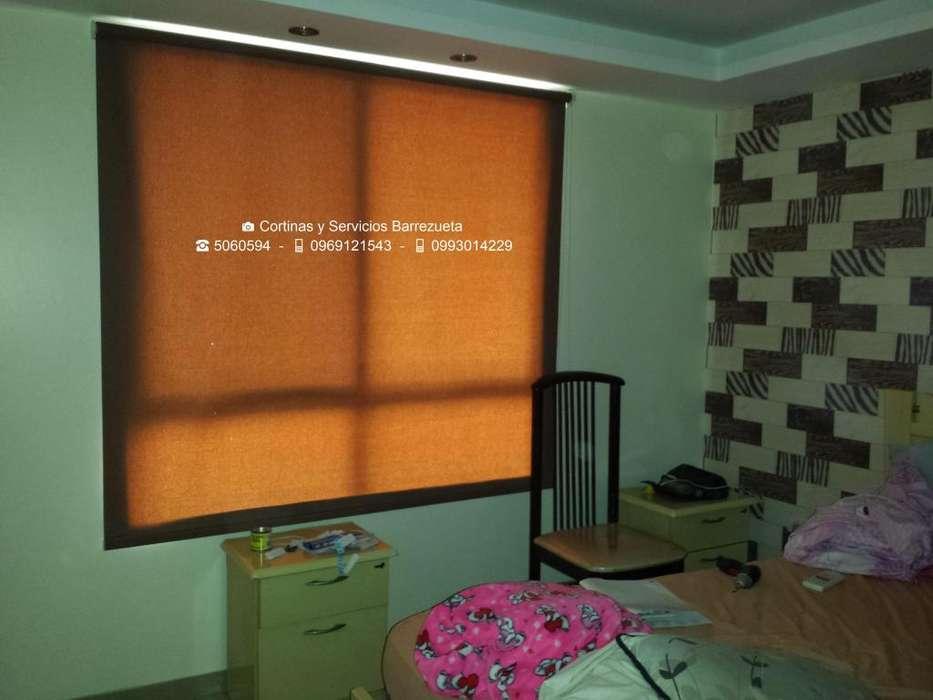 Disponemos de CORTINAS y PERSIANAS en Varios Modelos para Dormitorio Blackout y Traslúcida Contacto: 0969121543 5060594
