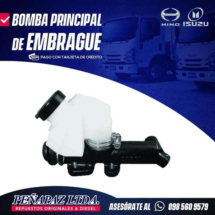 BOMBA PRINCIPAL DE EMBRAGUE HINO-ISUZU