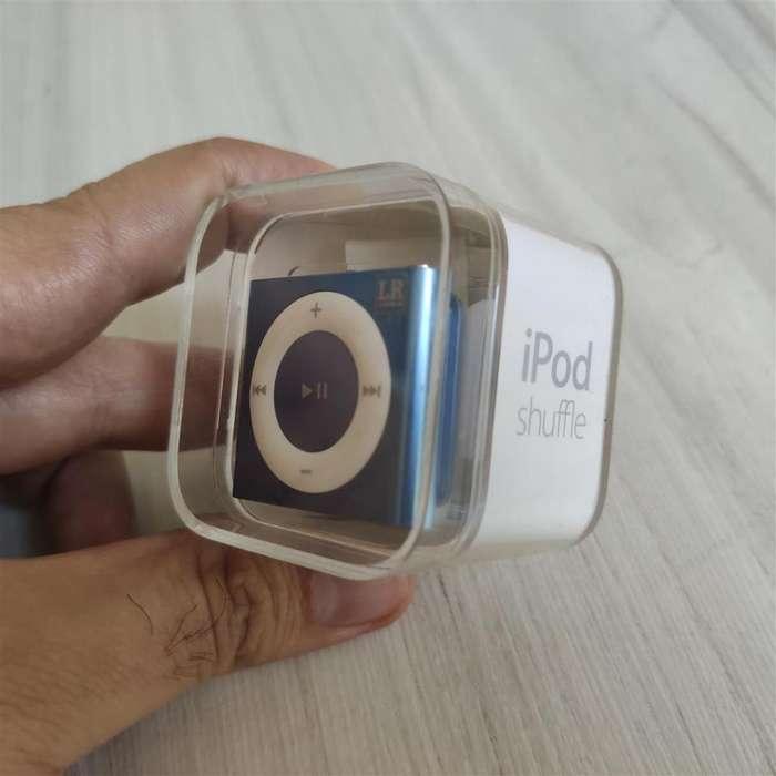 A034 <strong>ipod</strong> SHUFFLE 2GB ORIGINAL CON CABLE USB, EN CAJA