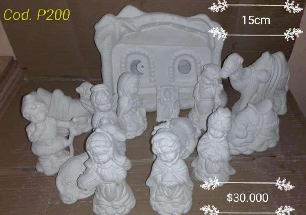 Pesebre en Ceramica