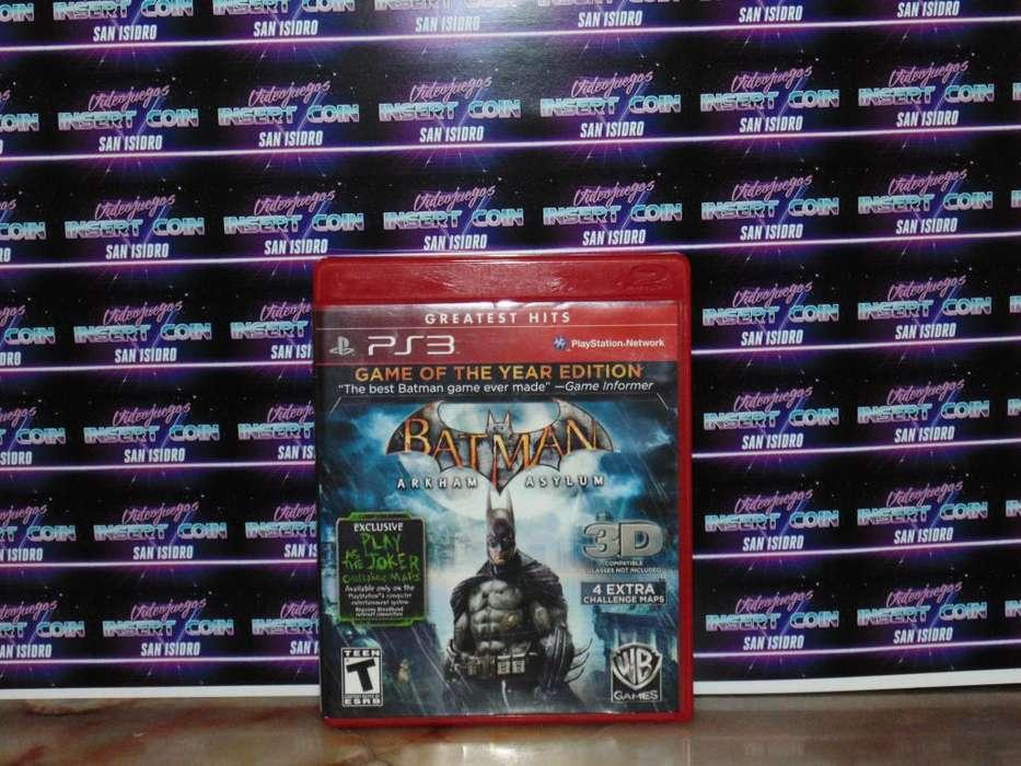 Batman Arkham Asylum Juego PS3 <strong>play</strong> Station 3