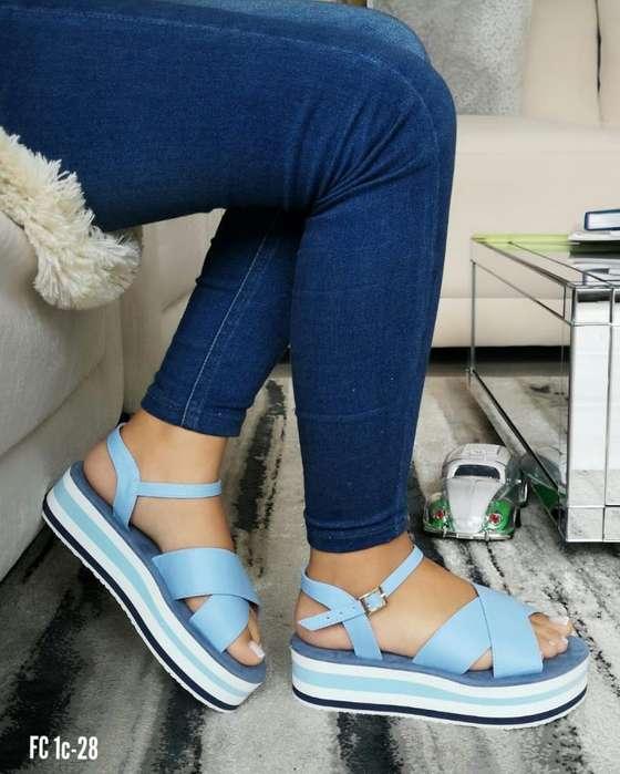 Sandalias de Dama Zuela Suave