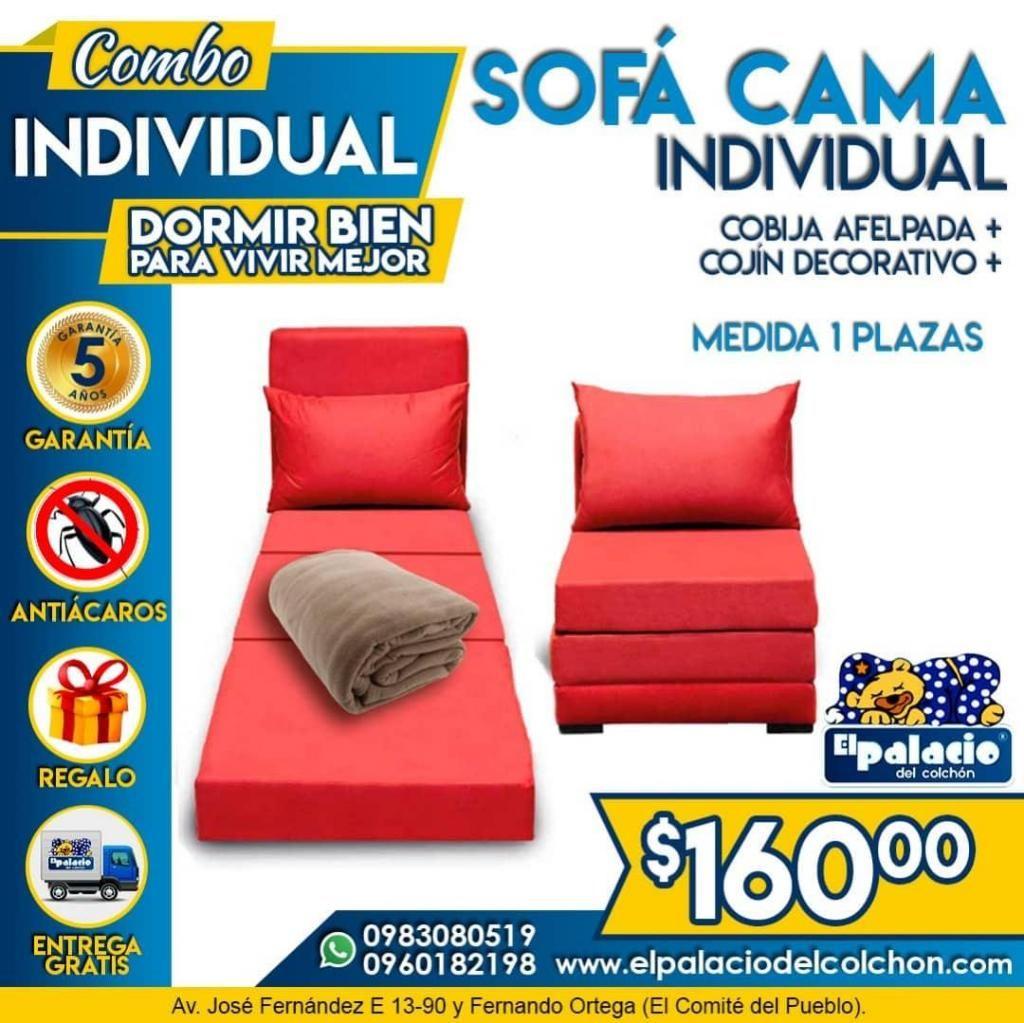 !!! PROMOCIÓN SOFACAMAS SOFA CAMA Toda Medida !!! FABRICANTES ((*LLAME 0983080519*)) El Palacio Del Colchón
