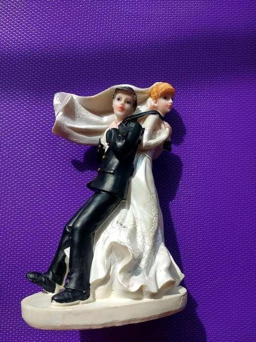 Topper figura Pastel de boda