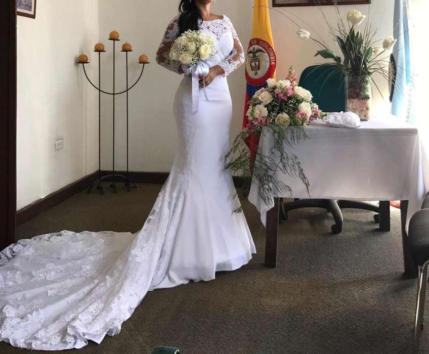 Vestido de novia importado diseño exculusivo