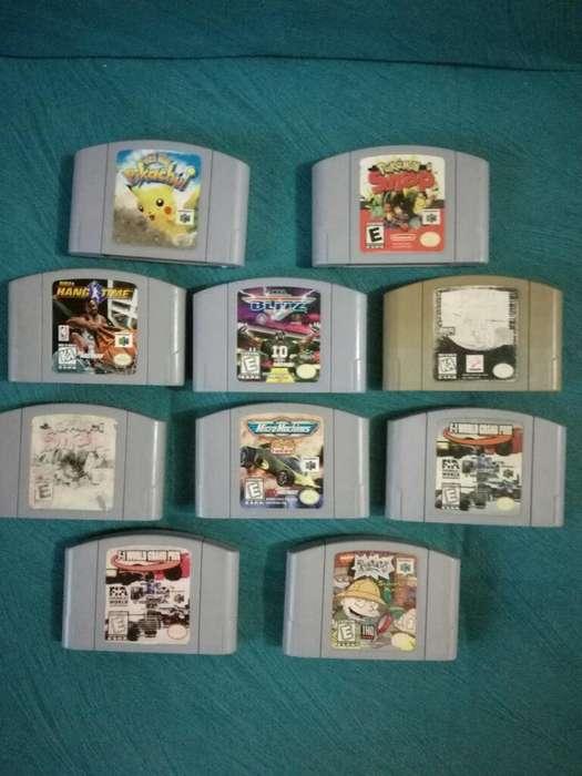 Juegos Nintendo 64 Oferta Pokemon N64 VARIOS TITULOS NES CARTUCHOS CARROS