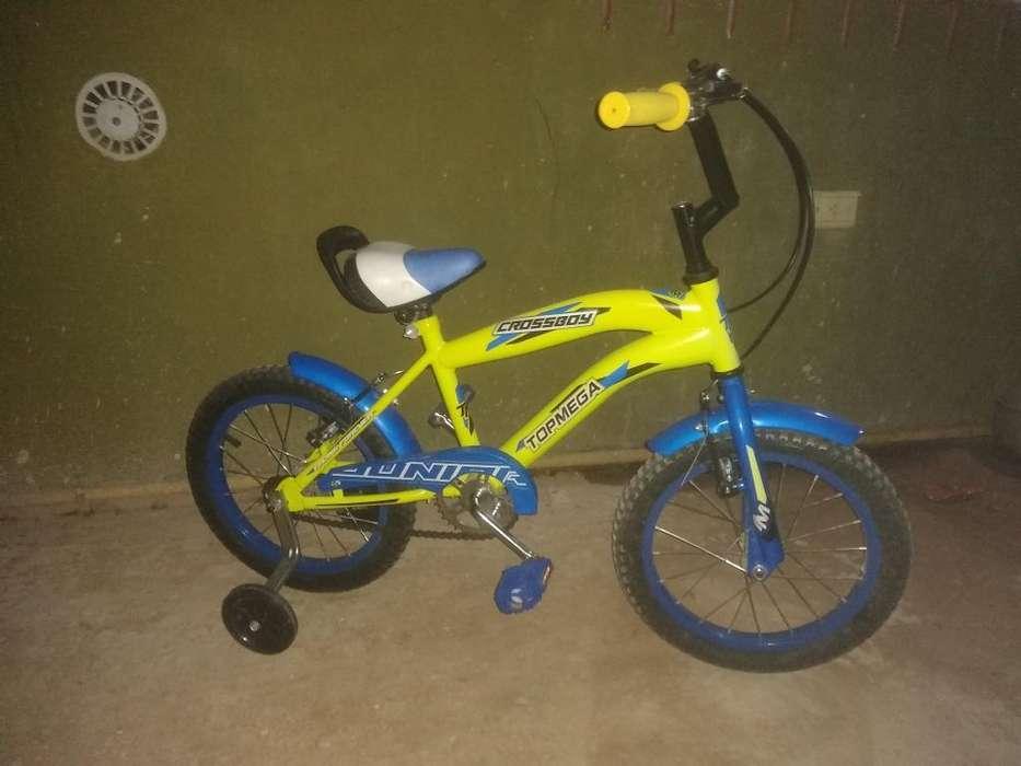 Bicicleta Rodado 16 Junior