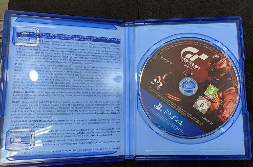 Juego Play 4 Grand Turismo Sport