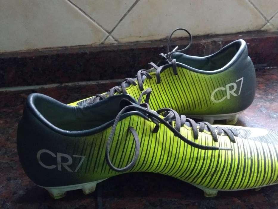 Botines Nike Mercurial Cr7 Usados
