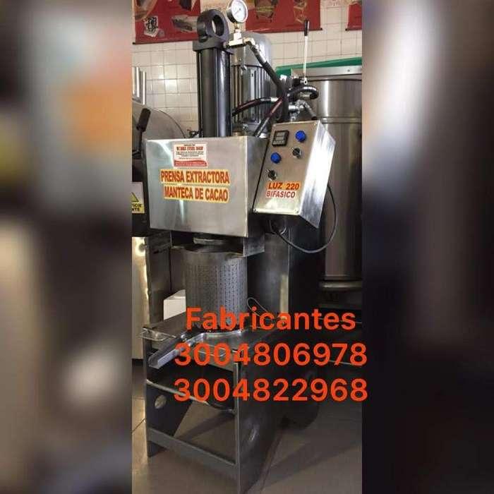 prensa cacao - sacha etc