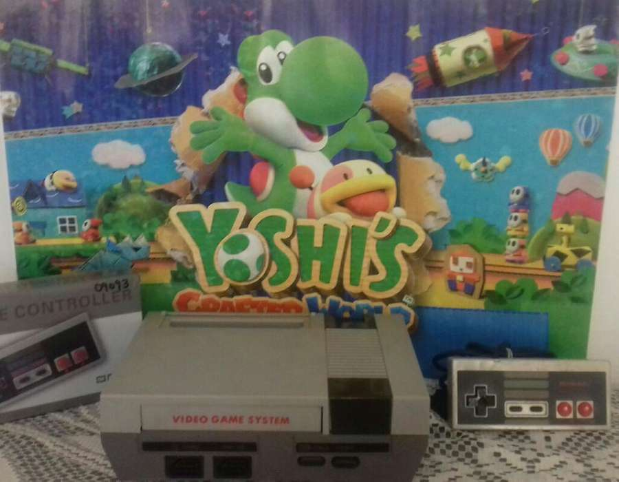 Nintendo Nes con Mario 1,2,3