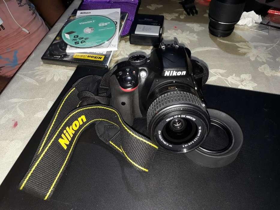 Camara Nikon 3300