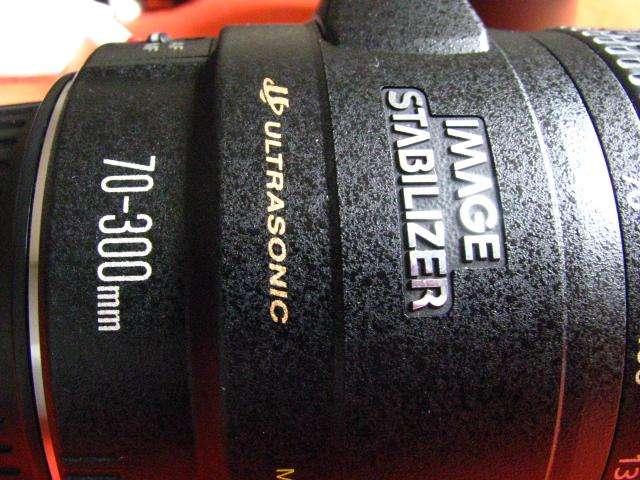 Lente Zoom Telefoto Canon 70300