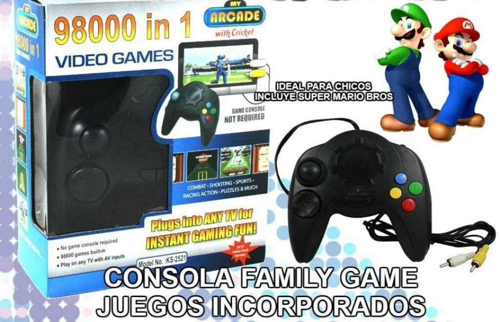 Consola con 98000 Juegos