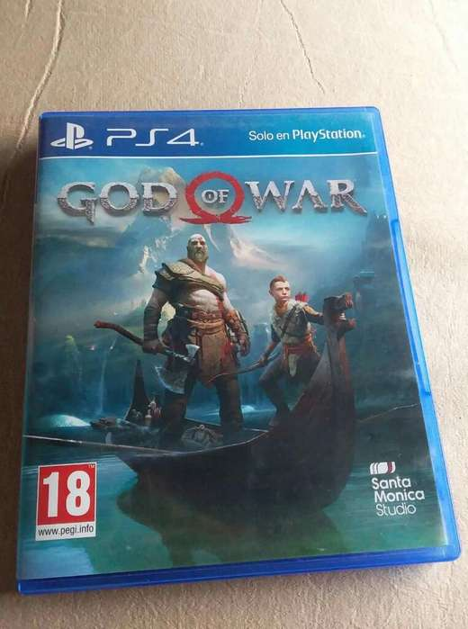 Juego Ps4 God Of Wuar