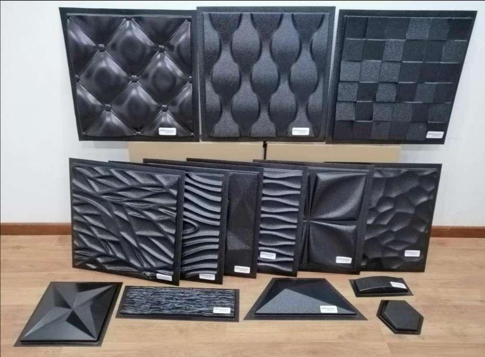 Moldes ABS para fabricar PARED 3D EN YESO O CONCRETO