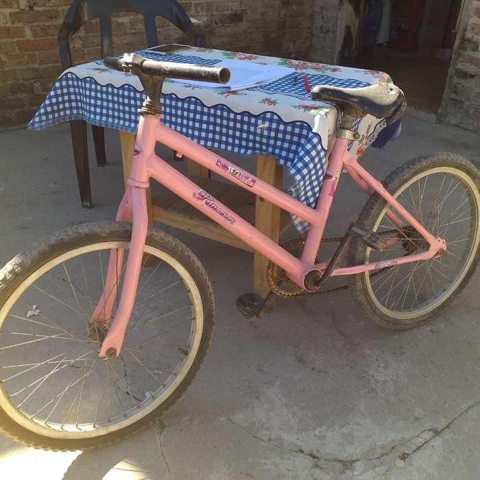 Vendo Bici para Nena de 6 Años...