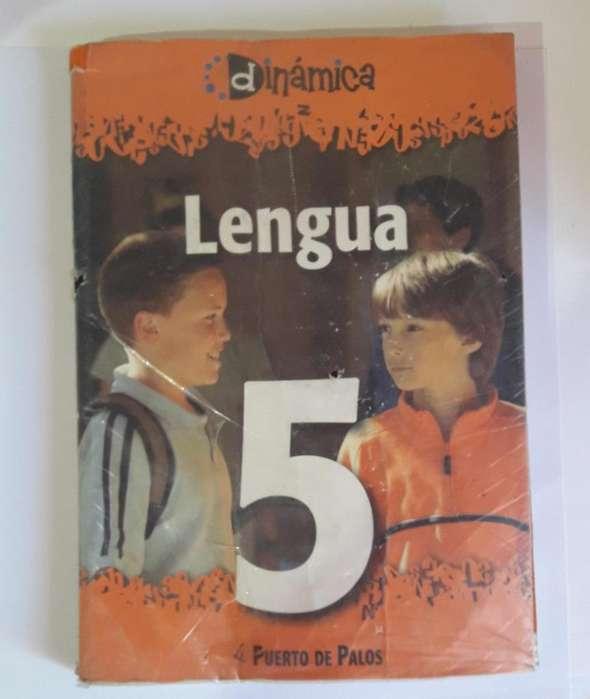 Libro Lengua y Los textos 5 Dinamica Puerto de palos